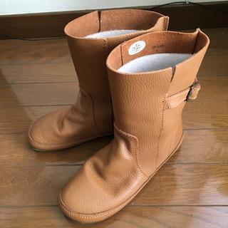 コース(KOOS)の◆KOOS風◆本革 ミディアム丈 ブーツ バングラデシュ製 レザー(ブーツ)
