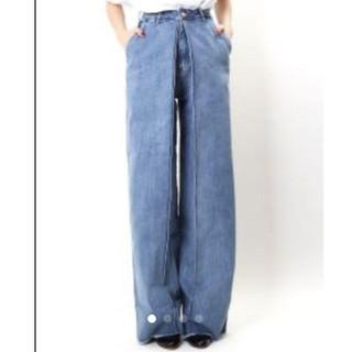 ジョンローレンスサリバン(JOHN LAWRENCE SULLIVAN)のAALTO(アールト) jeans with pleats 80s blue(デニム/ジーンズ)