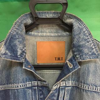 ティーエムティー(TMT)のTMT デニムジャケット L 美品(Gジャン/デニムジャケット)