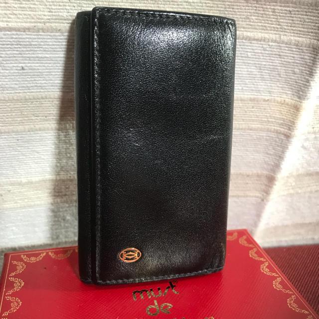 bb31d63f8f6d Cartier(カルティエ)のCartier カルティエ キーケース 正規品 レディースのファッション小物(
