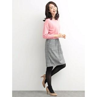 イェッカヴェッカ(YECCA VECCA)のYECCA VECCA グレンチェック柄スカート(ひざ丈スカート)