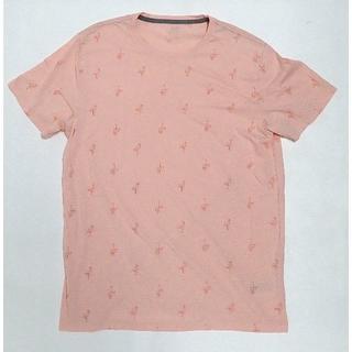 OLD NAVY フラミンゴ 総柄 Tシャツ Lサイズ ピンク GAP ギャップ