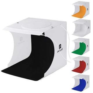【新品 ☆ 】撮影ボックス LEDライト40PCS 6色付き(ストロボ/照明)