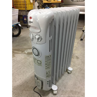 ZASS 電気オイルヒーター 動作確認済 煙や臭い、音を出さない 暖房機器(オイルヒーター)