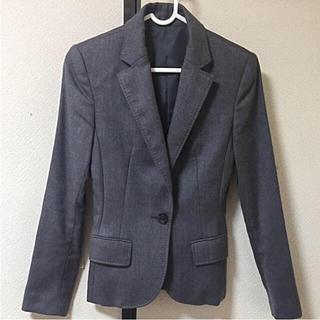 オフオン(OFUON)のclass ofuon テーラード ジャケット 34 スーツ レディース(テーラードジャケット)