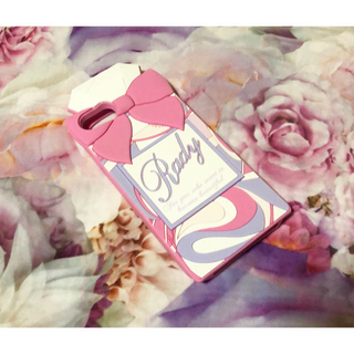 レディー(Rady)のRady♡iPhone ケース♡シリコン♡パフューム♡ピンクパフューム♡ダチュラ(iPhoneケース)