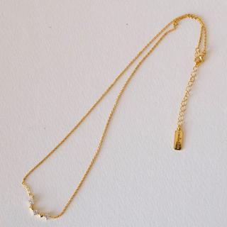 バウブルバー(BaubleBar)の値下げ 新品 Baublebarバウブルバー 18金メッキネックレス(ネックレス)