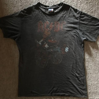 ジャンクフード(JUNK FOOD)の【JUNK FOOD】ジャンクフード★半袖Tシャツ 黒 XL ダメージ USED(Tシャツ/カットソー(半袖/袖なし))