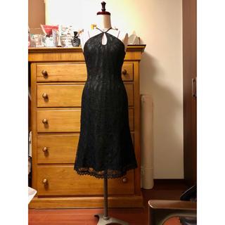 ナネットレポー(Nanette Lepore)のナネットレポー 黒レースのドレス (ひざ丈ワンピース)