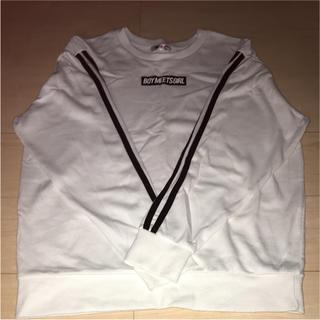 ダブルシー(wc)のロングTシャツ W❤︎C(Tシャツ(長袖/七分))