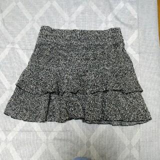 クローズアップ(CLOSE-UP)のスカート 冬用 ツイード(ひざ丈スカート)