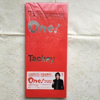 タッキーアンドツバサ(タッキー&翼)の2枚組DVD   One!-the history of Tackey-(ミュージック)