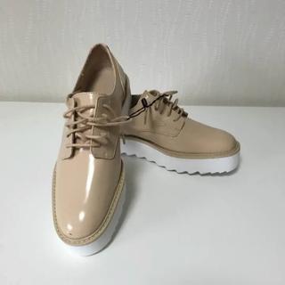 ザラ(ZARA)のZARA ローファー ベージュ(ローファー/革靴)