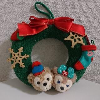 ディズニー(Disney)の【ダッフィー】クリスマスリース(リース)