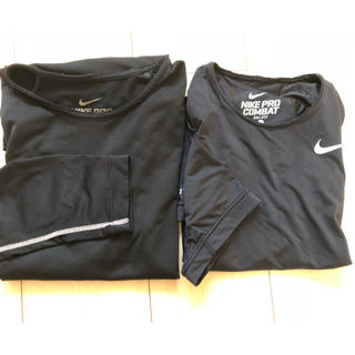 ナイキ(NIKE)のNIKEアンダーシャツ 2枚セット(ウェア)