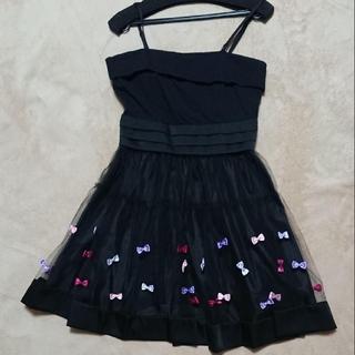 バービー(Barbie)のBarbie クチュール リボン付き ドレス(ミニワンピース)
