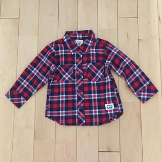 バディーリー(Buddy Lee)のBuddy Lee チェック シャツ トップス 95サイズ 新品未使用(Tシャツ/カットソー)