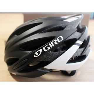 ジロ(GIRO)の新品 Giro Savant マットブラック/ホワイト M ロードヘルメット(ウエア)