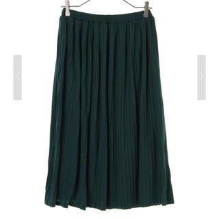 イェッカヴェッカ(YECCA VECCA)の美品 天竺プリーツスカート(ひざ丈スカート)