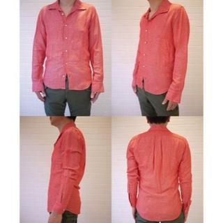 ジュンハシモト(junhashimoto)の数回着用24840円 ジュンハシモト イタリアンドレスシャツ AKMwjk(シャツ)