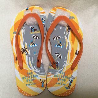 アナスイ(ANNA SUI)のアナスイ アナスイ ビーチサンダル オレンジ (S) 約23cm(ビーチサンダル)