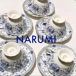ナルミ(NARUMI)のNARUMI  ミラノ カップ&ソーサー(グラス/カップ)