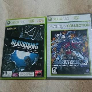 エックスボックス360(Xbox360)のデッドライジング+地球防衛軍3 セット(家庭用ゲームソフト)