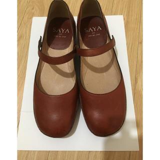 サヤ(SAYA)のサヤ SAYA 靴 23㎝(ローファー/革靴)