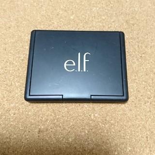 エルフ(elf)のelf*コンタリングブラッシュ&ブロンジングパウダー(フェイスカラー)