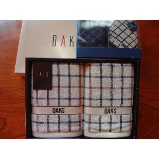 ダックス(DAKS)のダックス フェイスタオル2 ヴァレンティノ タオルハンカチ2(タオル/バス用品)