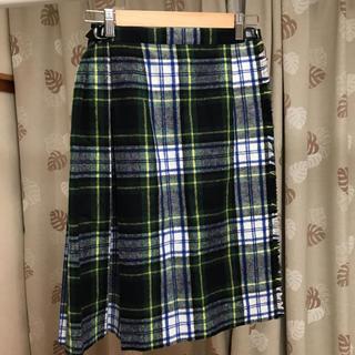 オニール(O'NEILL)のタータンチェック巻きスカート(ひざ丈スカート)