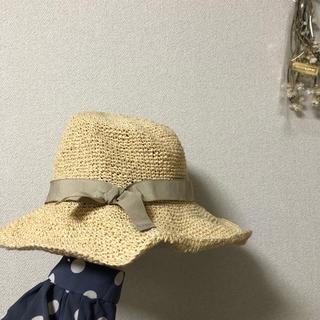 おしゃれ麦わらぼうし(麦わら帽子/ストローハット)
