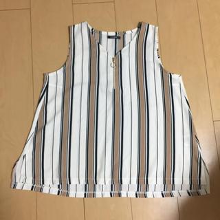シマムラ(しまむら)のトップス ノースリーブ レディース(Tシャツ(半袖/袖なし))