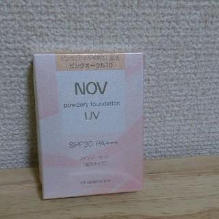 ノブ(NOV)のノブ パウダリーファンデーション ピンクオークル10(ファンデーション)