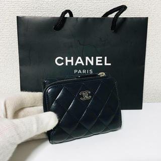 シャネル(CHANEL)の505❤️超美品❤️最新❤️シャネル❤️ジップ 財布❤️正規品鑑定済み❤️(財布)