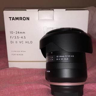 タムロン(TAMRON)のTAMRON 10-24mm Di Ⅱ VC  HLD (B023) ニコン用(レンズ(ズーム))