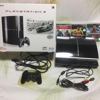 プレイステーション(PlayStation)のPLAY STATION3セット(家庭用ゲーム本体)