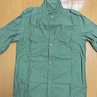 シップスジェットブルー(SHIPS JET BLUE)のミリタリーシャツ Mサイズ(シャツ)