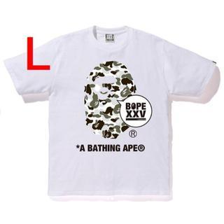 A BATHING APE - BAPE XXV TEE 京都 KYOTO APE HEAD サイズ L