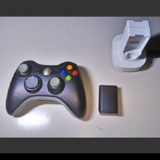 エックスボックス360(Xbox360)のXbox360 チャージキット コントローラー(家庭用ゲーム本体)