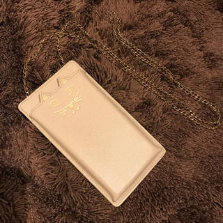 シャルロットオリンピア(Charlotte Olympia)のcharlotte olympia 猫 iphone スマホケース チェーン(iPhoneケース)