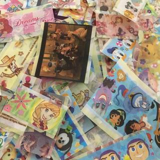 ディズニー(Disney)のディズニーだらけフレークシール マスキングテープ(その他)
