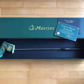 スコッティキャメロン(Scotty Cameron)の2017マスターズスコッティーキャメロン500本限定パター(クラブ)