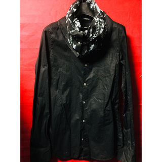 ダイエットブッチャースリムスキン(DIET BUTCHER SLIM SKIN)の中古DIET BUTCHER極細変形レイヤードスカーフネックドレスシャツ1(シャツ)