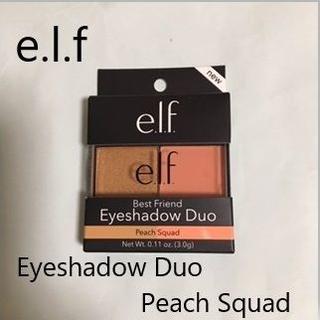 エルフ(elf)の新品 elf エルフ アイシャドウ デュオ ピーチスクワッド  e.l.f (アイシャドウ)