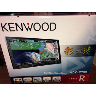 ケンウッド(KENWOOD)の超美品 KENWOOD MDV-R700 彩速ナビ 2018年最新地図(カーナビ/カーテレビ)