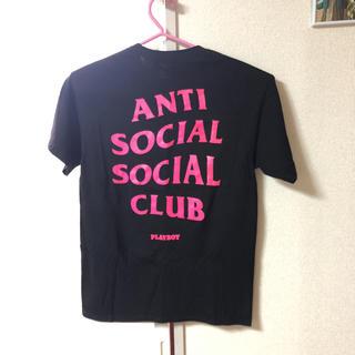 アンチ(ANTI)のANTI SOCIAL SOCIALCLUB   PLAYBOYコラボTシャツ(Tシャツ/カットソー(半袖/袖なし))