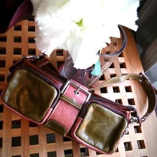 パピヨネ(PAPILLONNER)のパピヨネ イタリア製バッグ(ハンドバッグ)