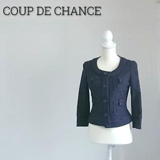 クードシャンス(COUP DE CHANCE)のCOUP DE CHANCE クードシャンス ジャケット パープル レディース(ノーカラージャケット)