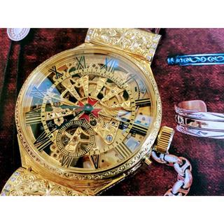 ヴァシュロンコンスタンタン(VACHERON CONSTANTIN)の★ヴァシュロンコンスタンタン/スケルトン/アンティーク/手巻き腕時計/24KGP(腕時計(アナログ))